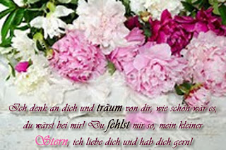 Blumen, schöne Gefühle, Verwirrung, Liebe und Aufregung