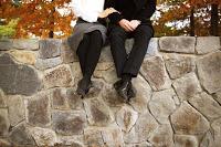 Verliebte bauen Vertrauen zum neuen Partner auf.