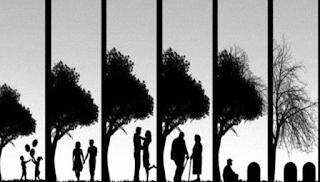 Leben und Tod begleiten jeden Menschen, es bleibt aber Glaub, Liebe und Hoffnung